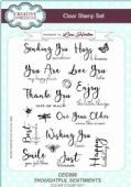 Creative Expressions - Thoughtful Sentiments A5 Clear Stamp Set - CEC896